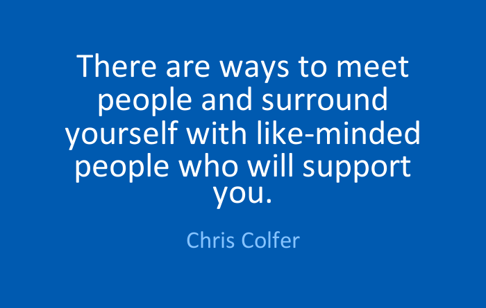 Meeting Others and #FindingCommunity